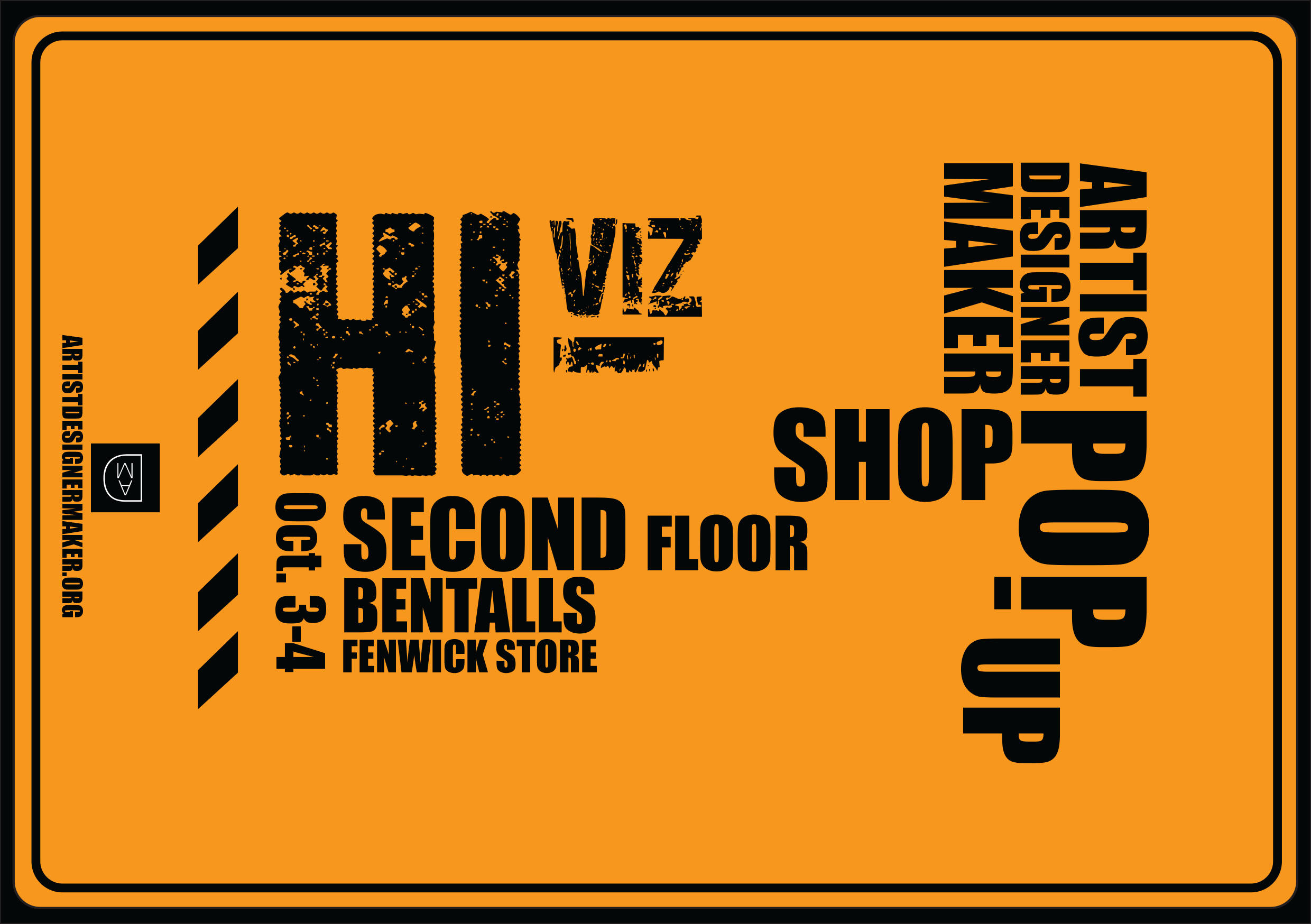 hi vis pop up shop coming this weekend opens friday 2nd october
